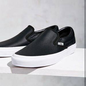 Leather Slip On Vans